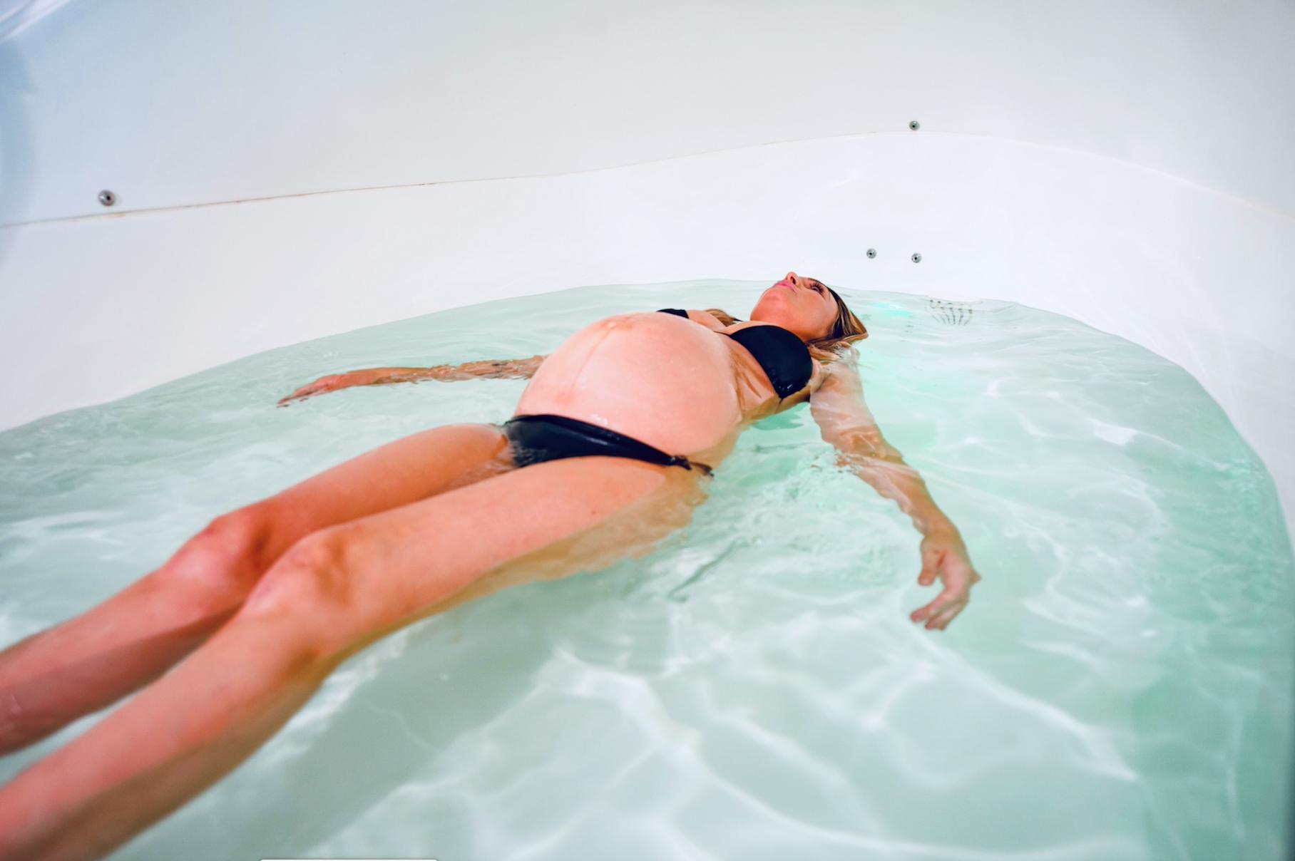 Pregnancy Float Salt Float Studio