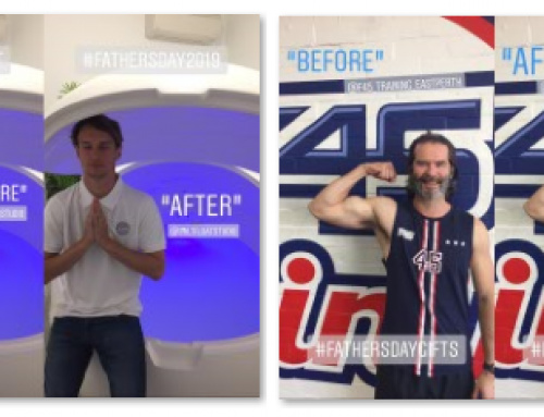 W I N !!!  This Father's Day with F45 Victoria Park & Salt Float Studio