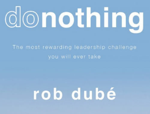 "Book Recommendation:  ""donothing"" by Rob Dube"