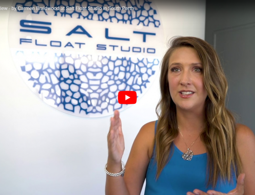 VIDEO 7: Customer Review – by Carmen Braidwood at Salt Float Studio in South Perth