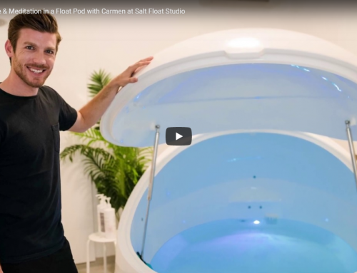 VIDEO 4: Time & Meditation in a Float Pod with Carmen at Salt Float Studio